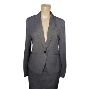 H & M classic gray jacket & blazer coat size 8